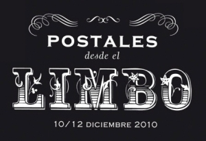 Cartel exposición Postales desde el limbo.
