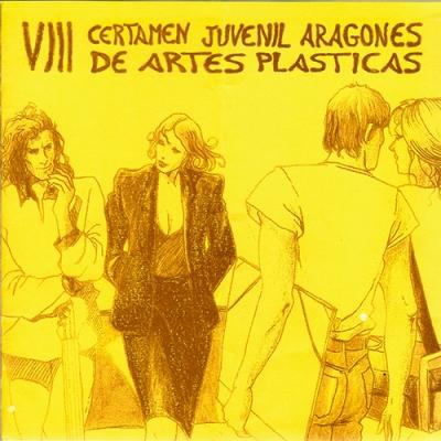VIII Certamen Juvenil Aragonés de Artes Plásticas.