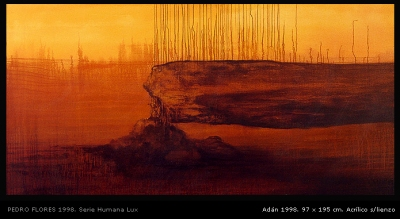 Adán 1998. 97x195 cm.