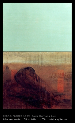 Adanescencia. 151x100 cm.