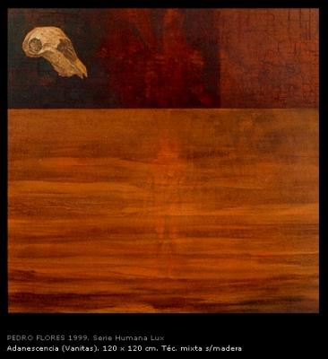 Adanescencia (vanitas). 120x120 cm.