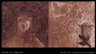 Aroma de campanas. 40x80 cm.