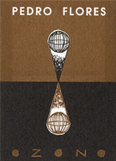 Ilustración del díptico  de la exposición Ozono.