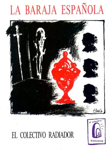 Díptico de la exposición La baraja española.
