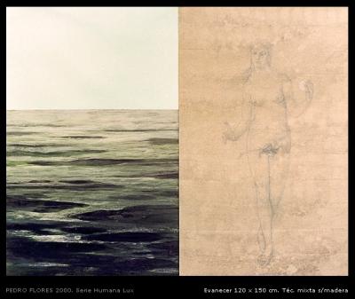 Evanecer. 120x150 cm.