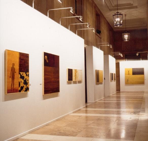 Vista de la exposición en la Casa de Velázquez, Madrid.