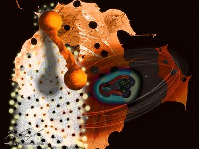 Herida madre. Collage digital.