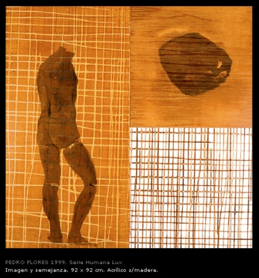 Imagen y semejanza. 92x92 cm.