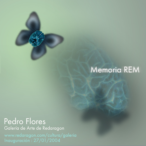 Invitación exposición Memoria REM en Redaragon.