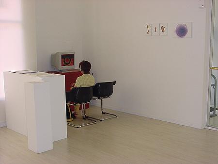 Vista exposición La Destilación. Sala Juana Francés. Ayto. Zaragoza.