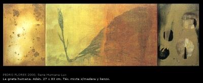 La grieta humana, Adán. 27x83 cm.