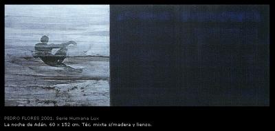 La noche de Adán. 60x152 cm.