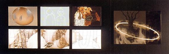 Luz (esencia 1). Glicée sobre lienzo. Obra finalista XVI Premio Isabel de Portugal.