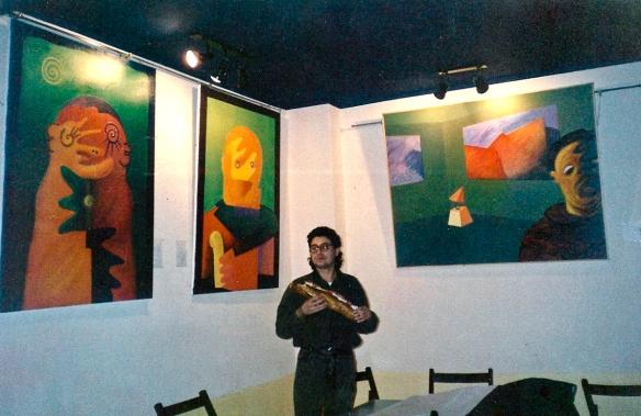 Vista de la exposición en Sala Piramys, Zaragoza.