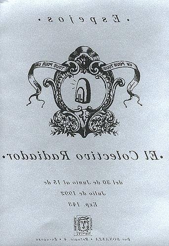 Invitación de la exposición Espejos de El Colectivo Radiador.