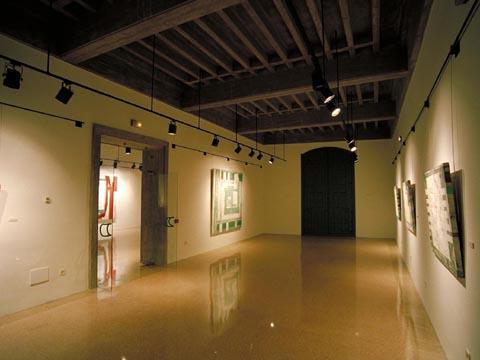 Sala de exposiciones Miguel Viladrich. Palacio Montcada, Fraga.