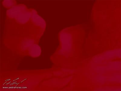 Salutación a la luz. Collage digital.