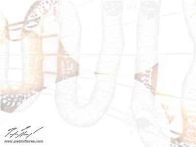 Serpentín # 3. Collage digital.