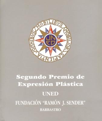 Portada del catálogo II Premio UNED. Barbastro.