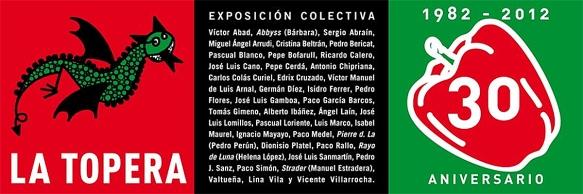 Exposición colectiva 30 aniversario del Mesón La Topera